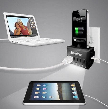 Energizer iSurge Charging Station with iPhone iPod Charging Dock