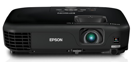 Epson PowerLite 1221 and PowerLite 1261W Portable Projectors front