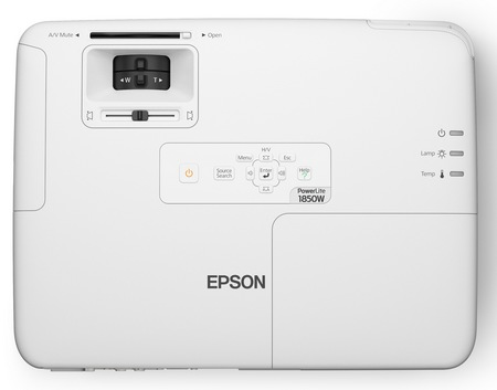 Epson PowerLite 1880 and 1850W Affordable Projectors for Corporate and Higher Education top