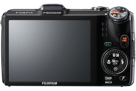 FujiFilm FinePix F600 EXR 15x Zoom Digital Camera back