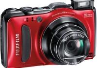 FujiFilm FinePix F600 EXR 15x Zoom Digital Camera red