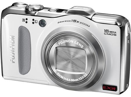 FujiFilm FinePix F600 EXR 15x Zoom Digital Camera white