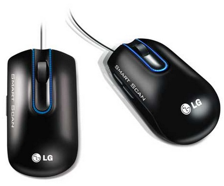 LG Smart Scan LSM-100 Scanner Mouse