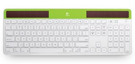 Logitech Wireless Solar Keyboard K750 for Mac green