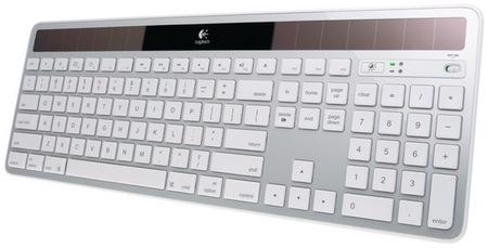 Logitech Wireless Solar Keyboard K750 for Mac silver
