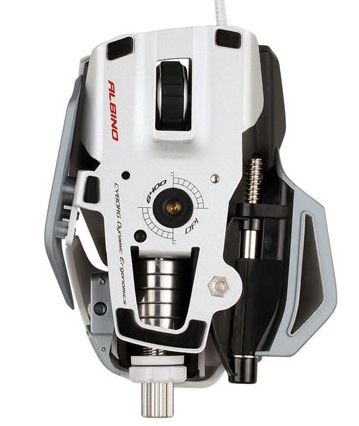 Mad Catz Cyborg R.A.T. Albino Gaming Mouse 2