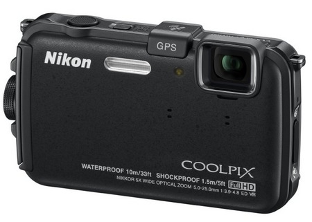 Nikon CoolPix AW100 Rugged Digital Camera black