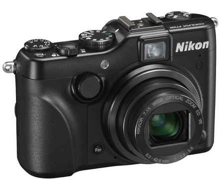 Nikon CoolPix P7100 Prosumer Digital Camera angle