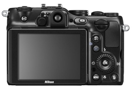 Nikon CoolPix P7100 Prosumer Digital Camera back