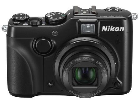 Nikon CoolPix P7100 Prosumer Digital Camera front lens open