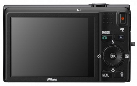 Nikon CoolPix S6200 Compact 10x Zoom Camera back