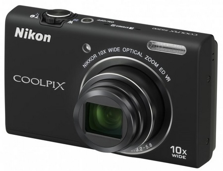 Nikon CoolPix S6200 Compact 10x Zoom Camera black