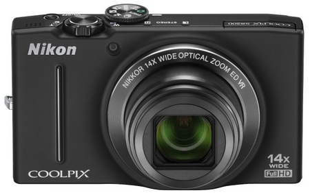 Nikon CoolPix S8200 Compact Camera with 14x Optical Zoom black