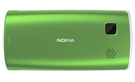 Nokia 500 Smartphone gets 1GHz CPU for Symbian Anna green back