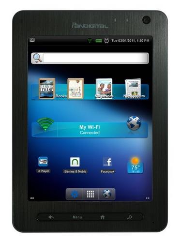 Pandigital Nova Android Tablet