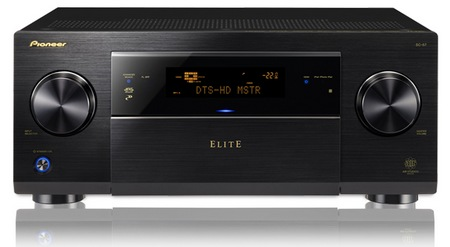 Pioneer Elite SC-57 and SC-55 A V Receivers
