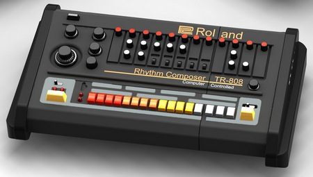 Roland TR-808 Drum Machine USB Flash Drive 1