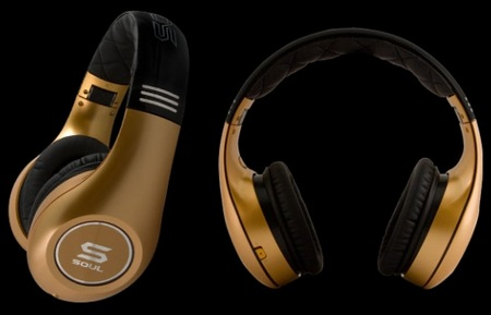 SOUL by Ludacris SL300 Noise-cancelling Headphones gold