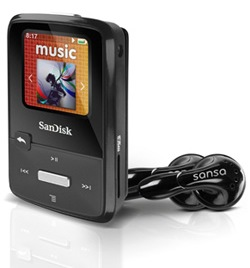 SanDisk Sansa Clip Zip MP3 Player 1.