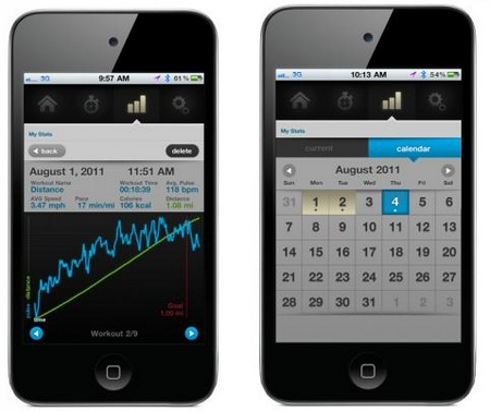 Scosche myTREK Pulse Monitor for iPhone and iPod touch 2