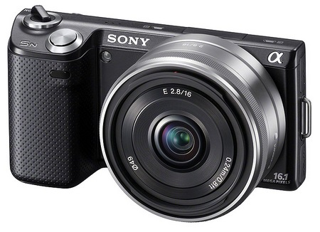 Sony NEX-5N Compact Interchangeable Lens Camera black