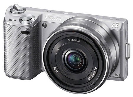 Sony NEX-5N Compact Interchangeable Lens Camera silver