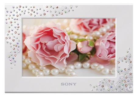 Sony S-Frame Gift Series DPF-C700WI digital photo frame