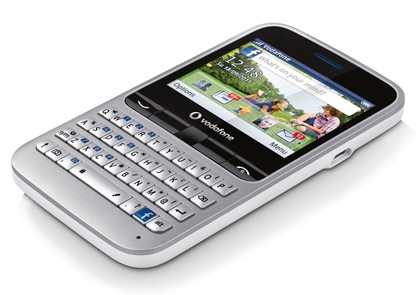 Vodafone 555 Facebook Phone with Facebook Button and QWERTY Keyboard 1