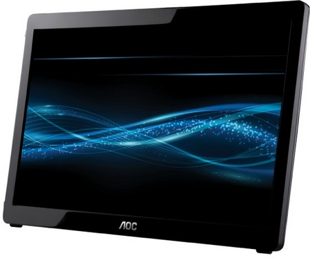 AOC e1649fwu 16-inch USB LCD Display