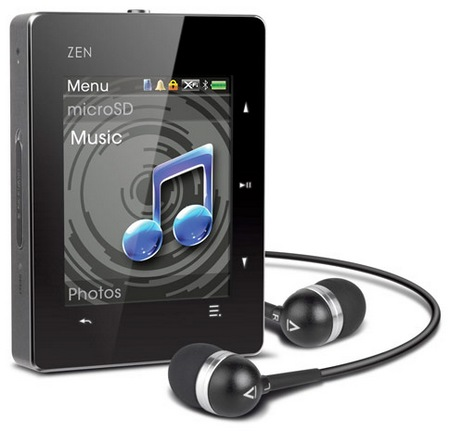 Creative ZEN X-Fi3 MP3 Player with Bluetooth 2