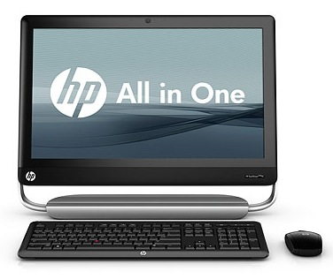 HP TouchSmart Elite 7320 All-in-one PC for Small Businesses