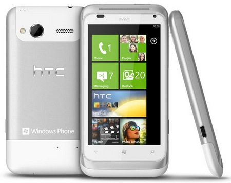 HTC Radar Windows Phone 7.5 Smartphone 1