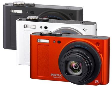 Pentax Optio RZ18 Digital Camera with 18X Optical Zoom colors