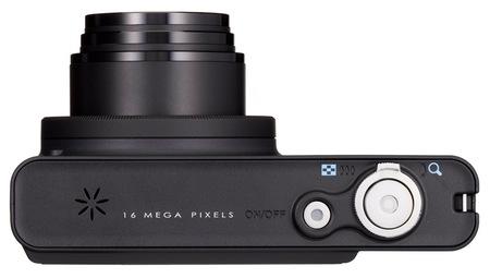 Pentax Optio RZ18 Digital Camera with 18X Optical Zoom top