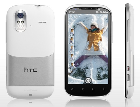 T-Mobile HTC Amaze 4G Android Smartphone does 1080p Full HD Video Recording white