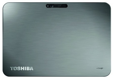 Toshiba AT200 Ultra Slim Android Tablet back