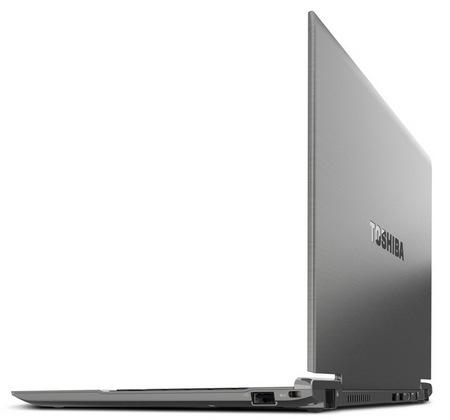 Toshiba Portege Z830 Ultrabook angle side