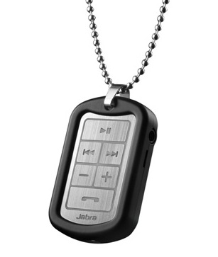 Jabra STREET2 Bluetooth 3.0 Pendant with AM3D Virtual Surround Sound with metal chain