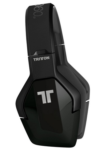Mad Catz Tritton Detonator Stereo Headset for XBox 360 side