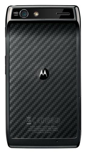 Motorola RAZR Ultra Slim Android Smartphone back
