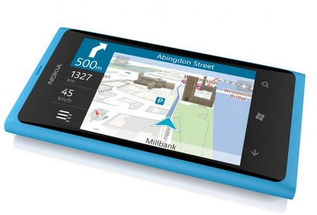 Nokia Lumia 800 Windows Phone 7.5 Smartphone gps