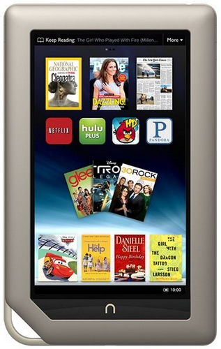 B&N NOOK Tablet with Dual-Core CPU and IPS Touchscreen
