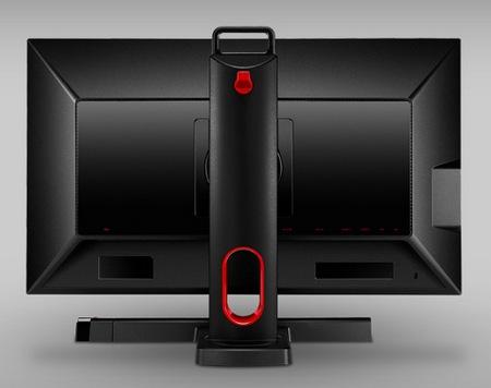 BenQ XL2420T and XL2420TX Professional Gaming Monitors back