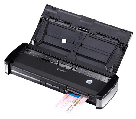 Canon imageFORMULA P-215 Personal Document Scanner card scan