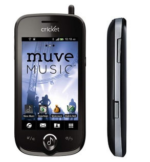 Cricket ZTE Chorus Android Phone for Music Lovers