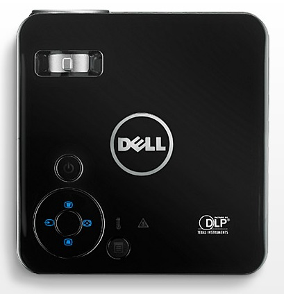 Dell M110 Ultra Mobile Projector top