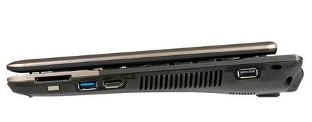 Gigabyte Booktop T1132 Tablet PC side