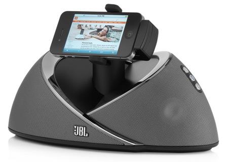 JBL OnBeat Air AirPlay-capable iPad Speaker Dock iphone landscape