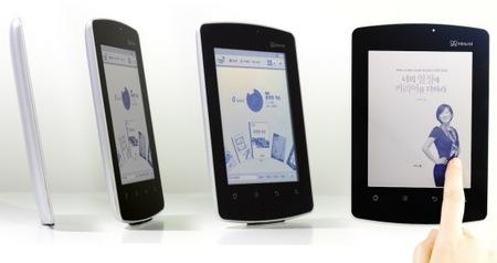 Kyobo Mirasol e-book reader runs Android