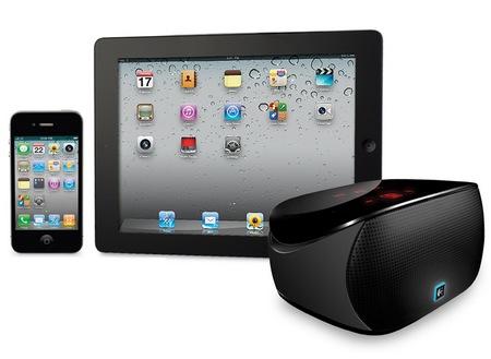 Logitech Mini Boombox Mobile Speaker-and-Speakerphone Combo
